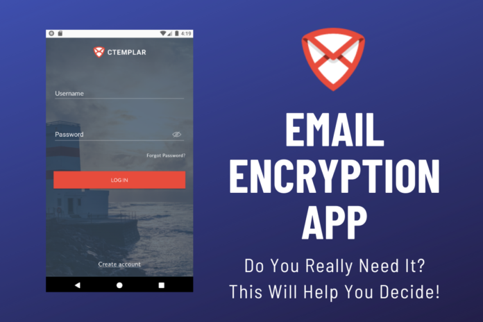 Email Encryption App